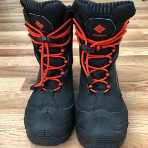 Columbia youth snow boots - waterproof insulated